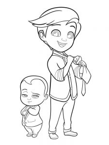 coloring pages baby free
