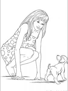 coloring pages barbie video game hero