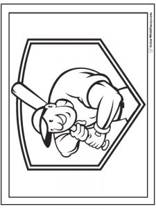 coloring pages baseball team logos