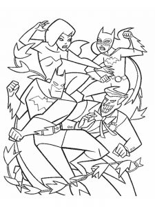 coloring pages dc comics free