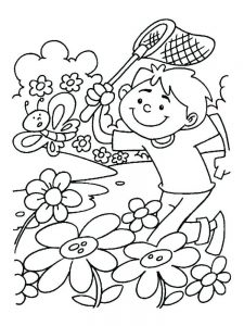 coloring pages flowers spring free