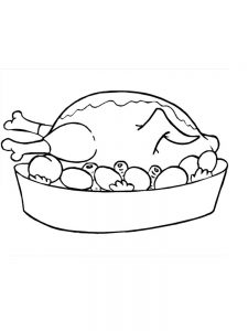 coloring pages food and drink