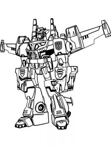 coloring pages for boys transformers