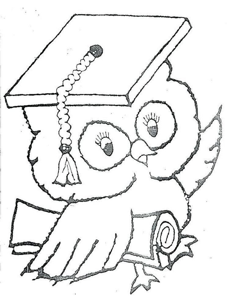 coloring pages for graduation