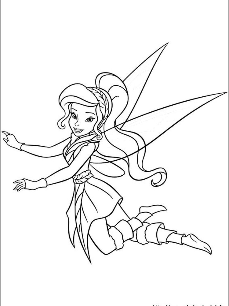 coloring pages for tinkerbell