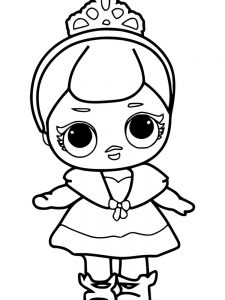 coloring pages lol dolls printable