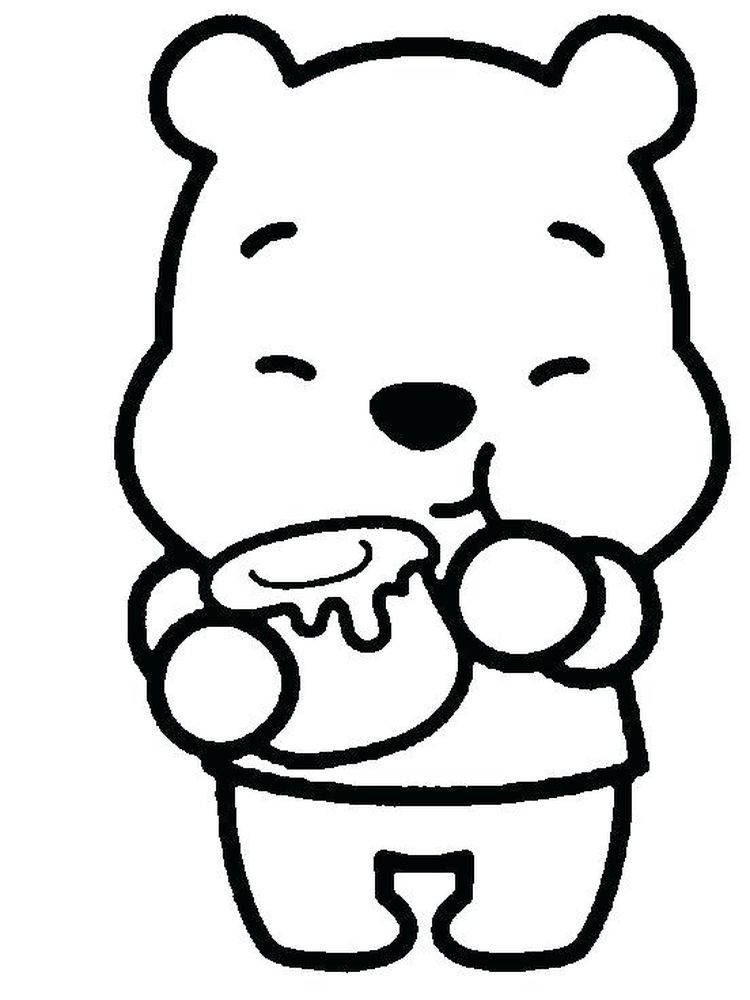 coloring pages of baby winnie the pooh and friends