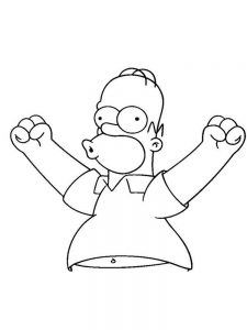 coloring pages of the simpsons pdf