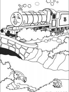 coloring pages of thomas the train and friends