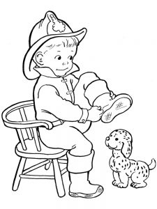 coloring pages puppy 008