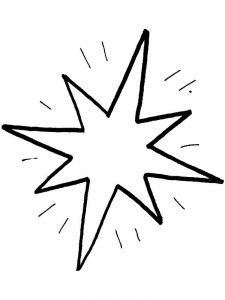 coloring pages stars and hearts