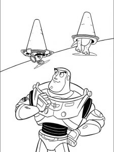 coloring pages toy story 2