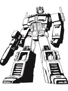 coloring pages transformers 006