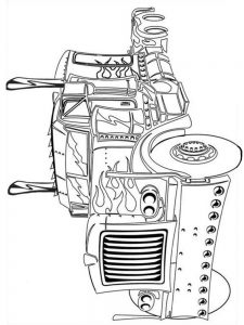 coloring pages transformers 010