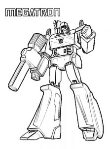 coloring pages transformers 015