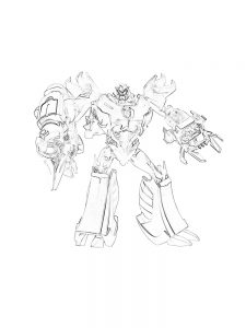 coloring pages transformers free