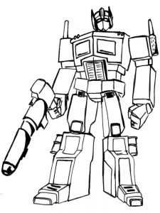 coloring pages transformers prime