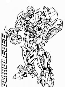 coloring pages transformers print