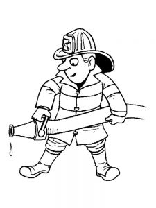 community helper coloring pages for kindergarten