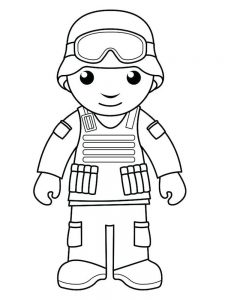 community helper coloring pages free