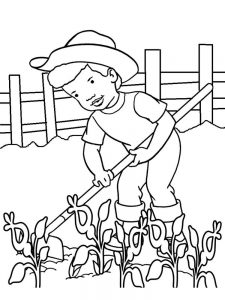 community helper colouring pages