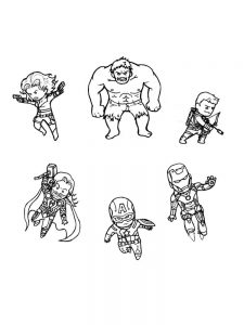 cool avengers coloring pages
