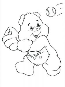 cool baseball coloring pages