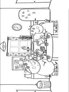 cool peppa pig coloring pages