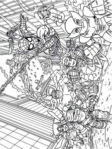 crayola avengers coloring pages