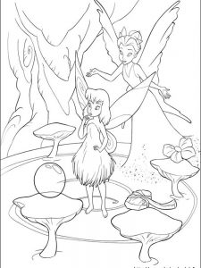 crayola tinkerbell coloring pages