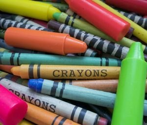 Printable Crayon Coloring Pages For Kids