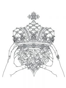 crown coloring pages 031