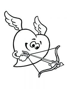 cupid coloring pages download