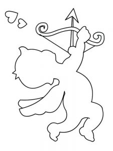 cupid coloring pages download pict