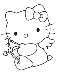 cupid coloring pages free image