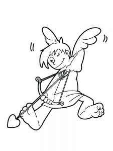 cupid coloring pages online