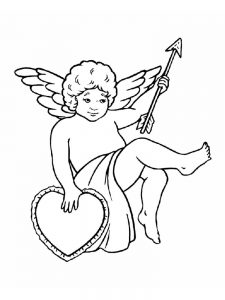 cupid coloring pages pict