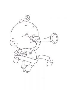 cupid coloring pages pict free