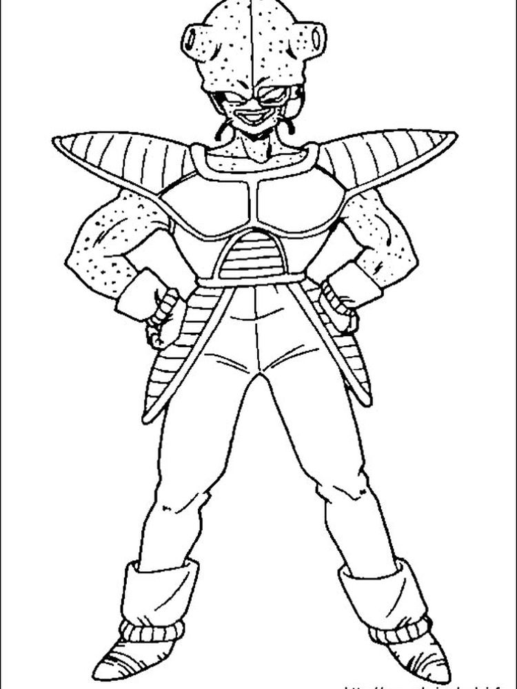 cute dragon ball z coloring pages