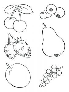 cute food coloring pages for adults