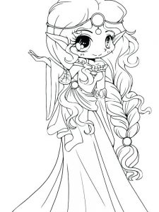 cute girl coloring pages 034