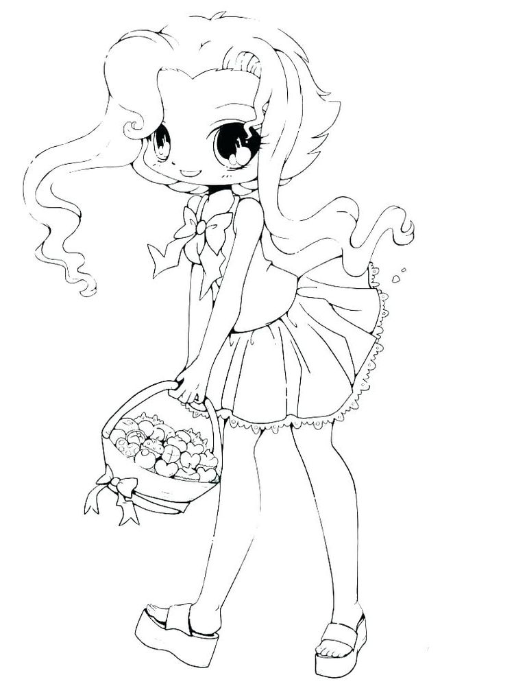 cute girl coloring pages for teens