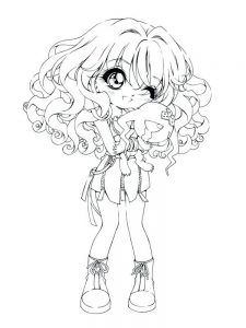 cute girl coloring pages free