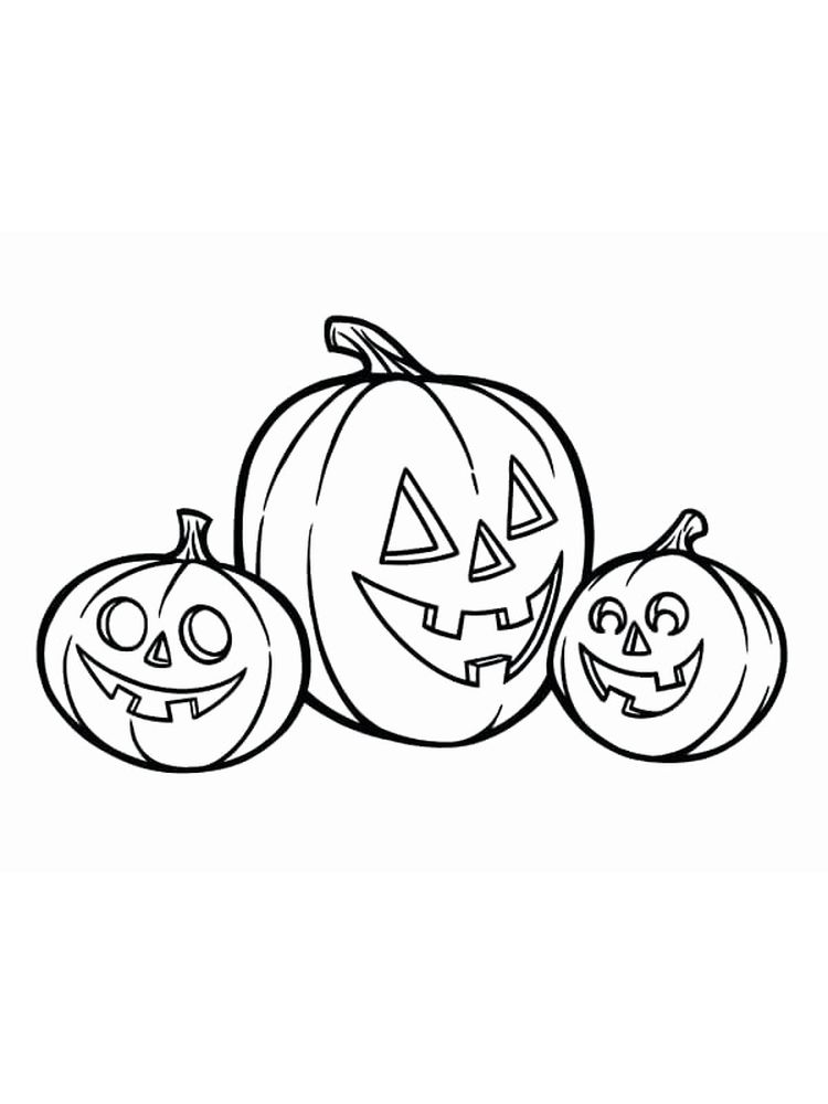 cute jack o lantern coloring pages
