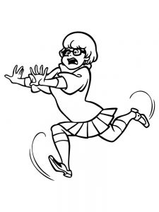 cute scooby doo coloring pages