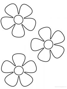 daisy coloring pages images