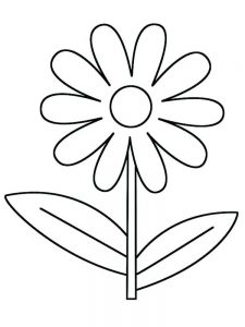daisy flower friends coloring pages
