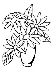 daisy flower printable