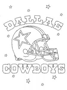 dallas cowboys cheerleader coloring pages