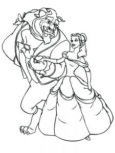 dance coloring page free